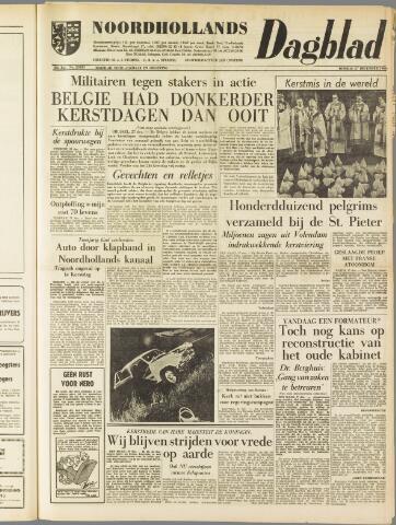 Noordhollands Dagblad : dagblad voor Alkmaar en omgeving 1960-12-27