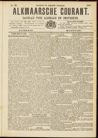 Alkmaarsche Courant 1907-01-26
