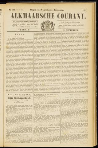 Alkmaarsche Courant 1897-09-24