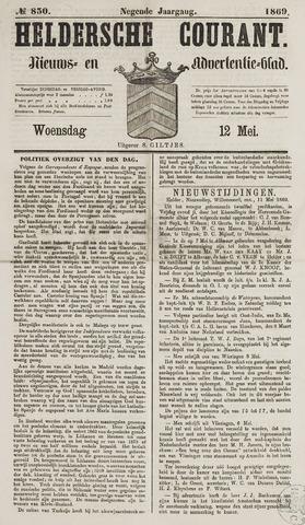 Heldersche Courant 1869-05-12