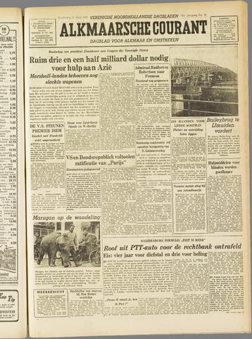 Alkmaarsche Courant 1955-04-21