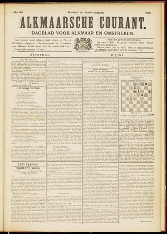 Alkmaarsche Courant 1908-06-27