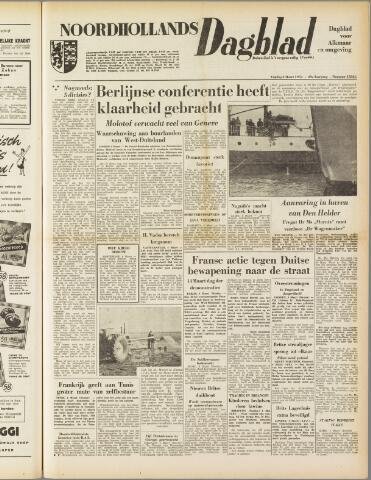 Noordhollands Dagblad : dagblad voor Alkmaar en omgeving 1954-03-05