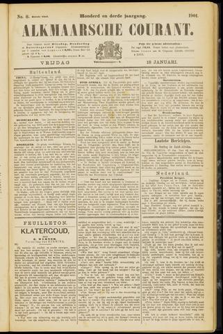 Alkmaarsche Courant 1901-01-18