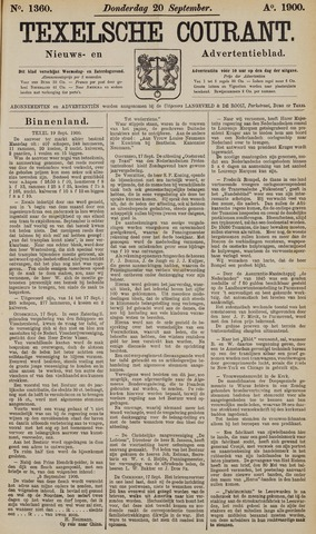 Texelsche Courant 1900-09-20