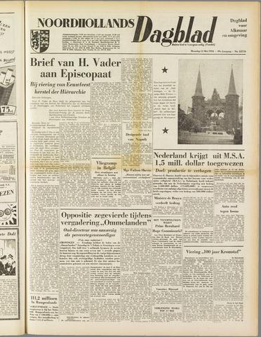 Noordhollands Dagblad : dagblad voor Alkmaar en omgeving 1953-05-11