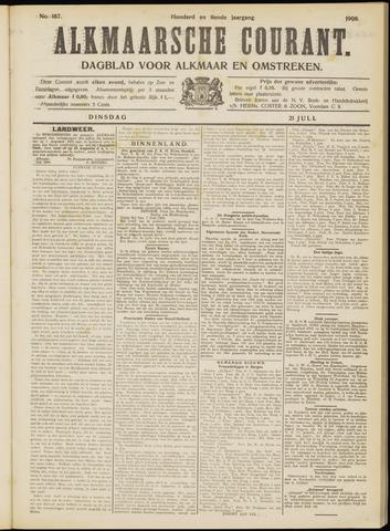 Alkmaarsche Courant 1908-07-21