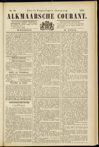 Alkmaarsche Courant 1889-04-24