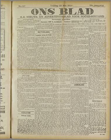 Ons Blad : katholiek nieuwsblad voor N-H 1919-05-23