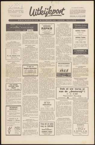 Uitkijkpost : nieuwsblad voor Heiloo e.o. 1966-03-31