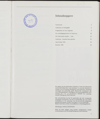 Jaarboek Oud Castricum 1985-11-01