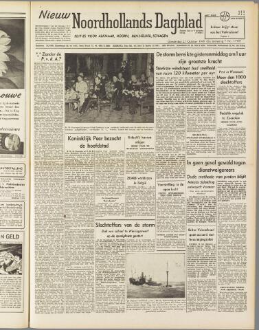 Nieuw Noordhollandsch Dagblad : voor Alkmaar en omgeving 1949-10-27