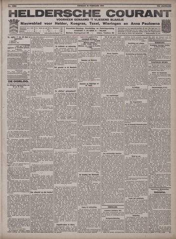 Heldersche Courant 1916-02-15