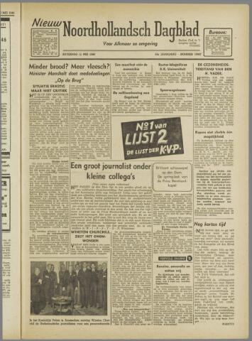 Nieuw Noordhollandsch Dagblad : voor Alkmaar en omgeving 1946-05-11