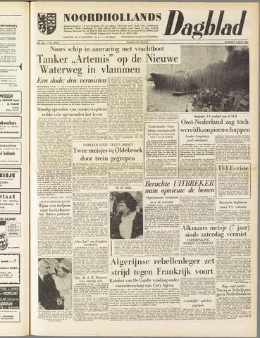Noordhollands Dagblad : dagblad voor Alkmaar en omgeving 1958-06-09