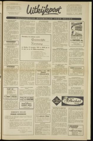 Uitkijkpost : nieuwsblad voor Heiloo e.o. 1962-12-06