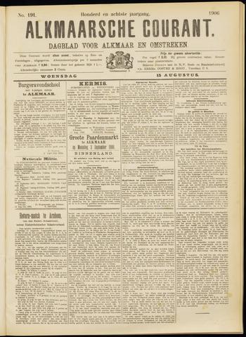 Alkmaarsche Courant 1906-08-15