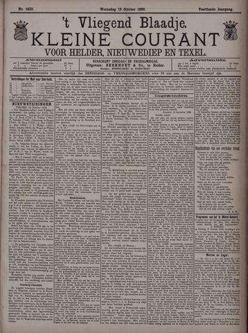 Vliegend blaadje : nieuws- en advertentiebode voor Den Helder 1886-10-13