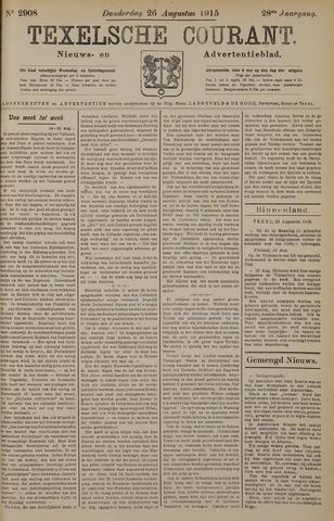 Texelsche Courant 1915-08-26
