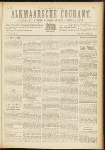 Alkmaarsche Courant 1917-11-19