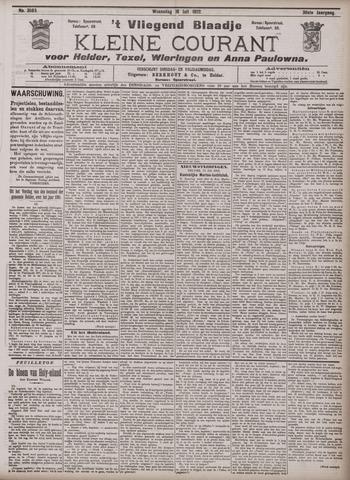Vliegend blaadje : nieuws- en advertentiebode voor Den Helder 1902-07-16