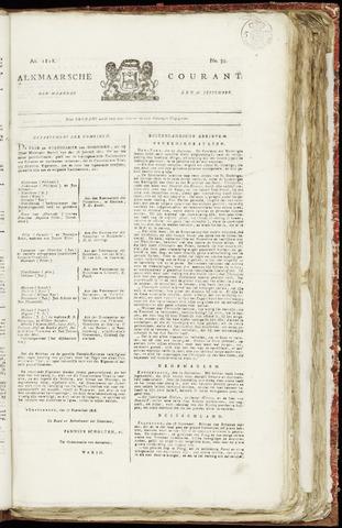 Alkmaarsche Courant 1818-09-28
