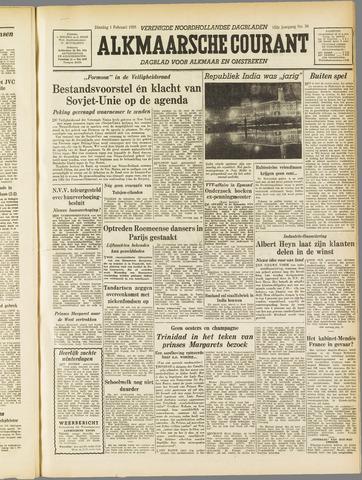 Alkmaarsche Courant 1955-02-01