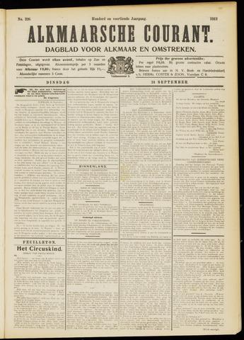 Alkmaarsche Courant 1912-09-24