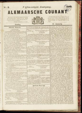 Alkmaarsche Courant 1863-01-11