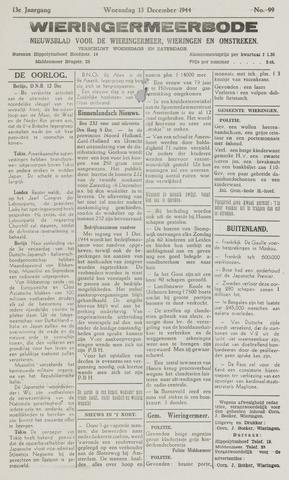 Wieringermeerbode 1944-12-13