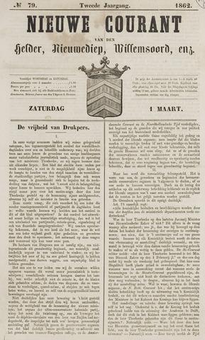 Nieuwe Courant van Den Helder 1862-03-01