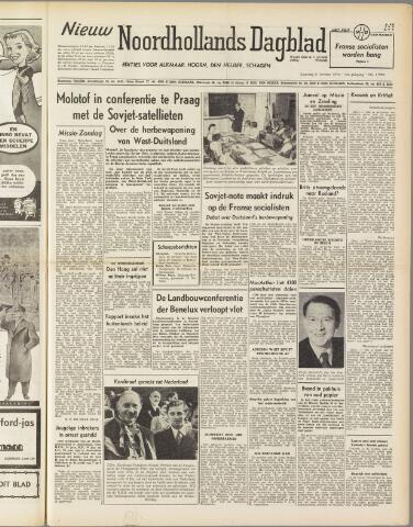 Nieuw Noordhollandsch Dagblad : voor Alkmaar en omgeving 1950-10-21