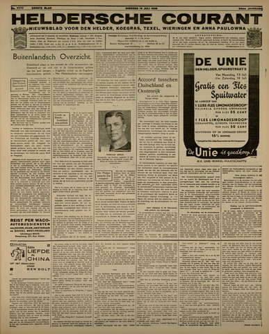 Heldersche Courant 1936-07-14