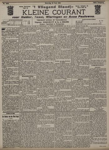 Vliegend blaadje : nieuws- en advertentiebode voor Den Helder 1908-06-20