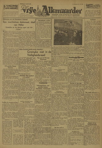 De Vrije Alkmaarder 1946-03-29