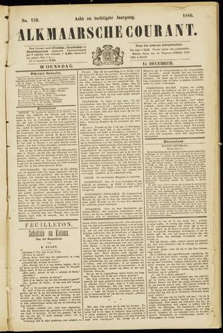 Alkmaarsche Courant 1886-12-15