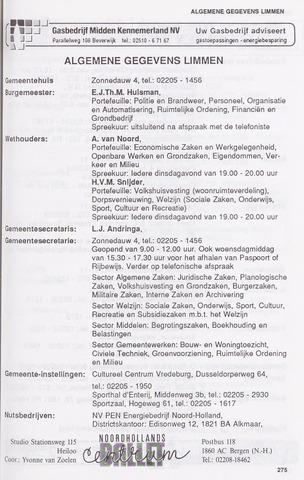 Adresboek van Limmen 1989-01-02