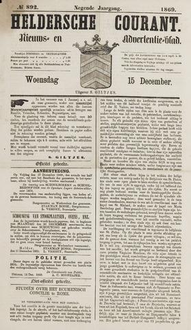 Heldersche Courant 1869-12-15