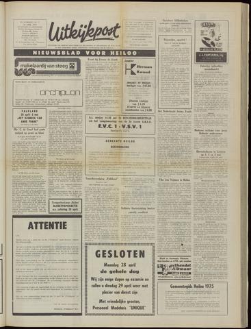 Uitkijkpost : nieuwsblad voor Heiloo e.o. 1975-04-23