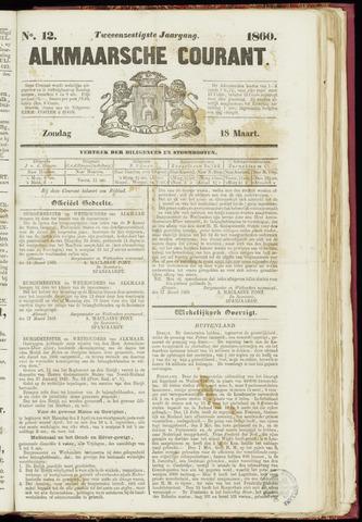 Alkmaarsche Courant 1860-03-18