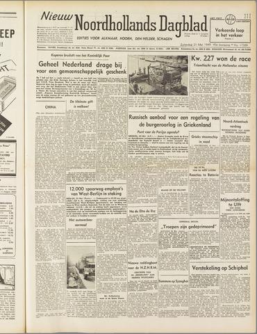 Nieuw Noordhollandsch Dagblad : voor Alkmaar en omgeving 1949-05-21