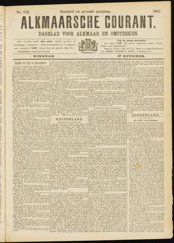 Alkmaarsche Courant 1905-10-17