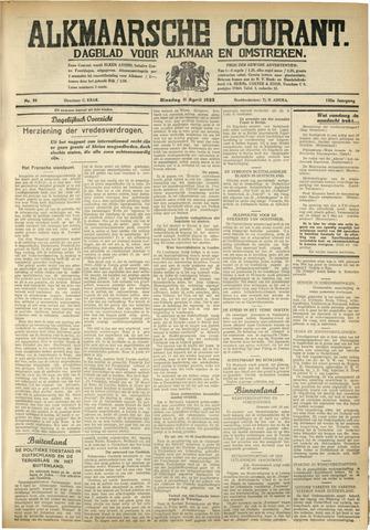 Alkmaarsche Courant 1933-04-11