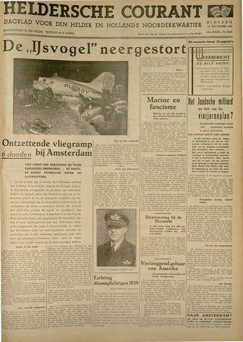 Heldersche Courant 1938-11-15