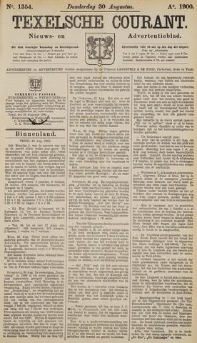 Texelsche Courant 1900-08-30
