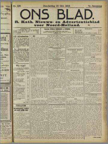 Ons Blad : katholiek nieuwsblad voor N-H 1913-10-30