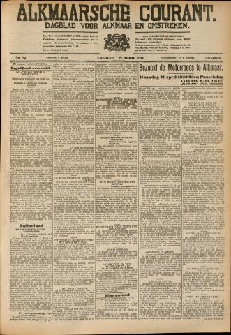 Alkmaarsche Courant 1930-04-18