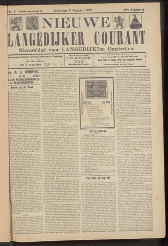 Nieuwe Langedijker Courant 1926
