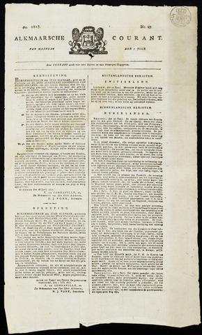 Alkmaarsche Courant 1817-07-07