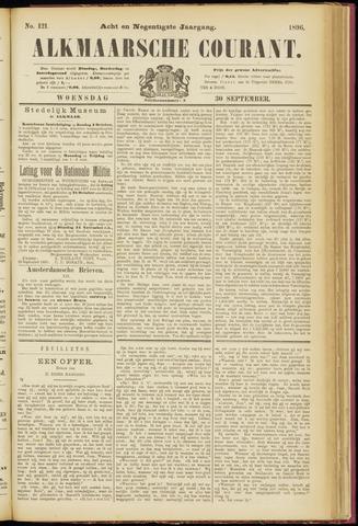 Alkmaarsche Courant 1896-09-30